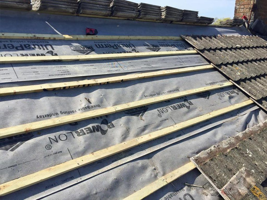 pitch roof repairs