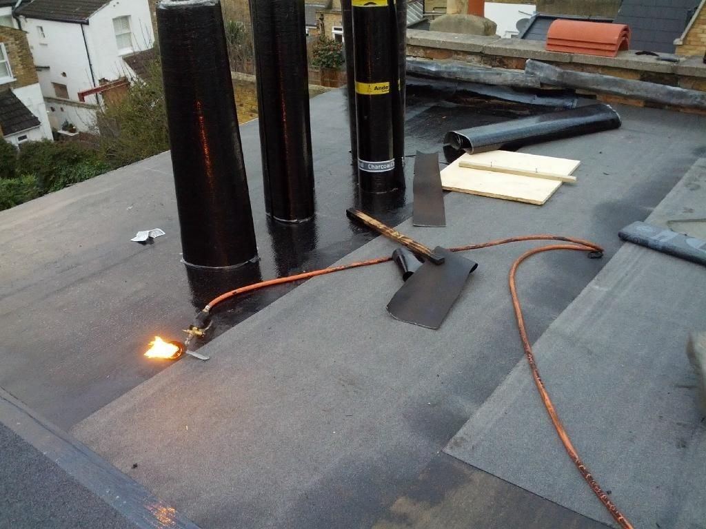 Torch on Felt Roofs Dublin - Torch and Bitumen Roof Repairs