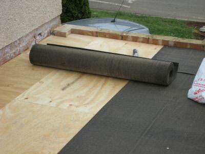 Torch on Felt Flat Roofing